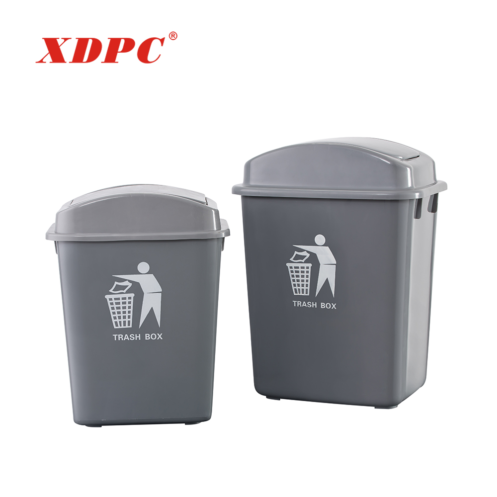 Small 20l 30 Liter Kitchen Garbage Box Trash Can With Lid - Buy Kitchen  Garbage Box,Waste Receptacles,Trash Can With Lid Product on Alibaba.com