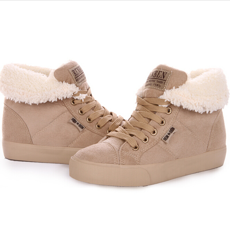 c6cec454a3af Get Quotations · Fashion Men And Women Snow Boots 2015 Winter Casual  Comfortable Thickened Cotton Shoes Keep Warm Non
