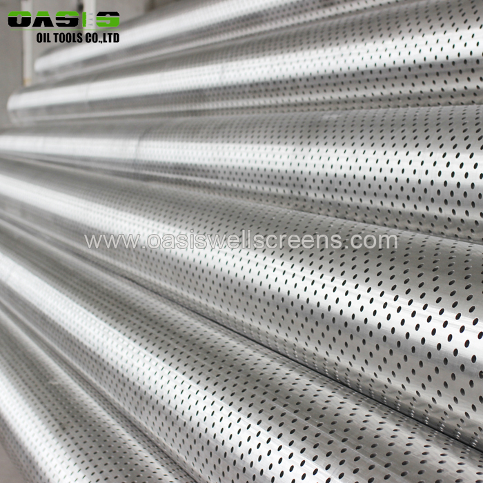 perforated pipes for sale with API 5CT stanard used for water and oil filter