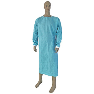 SMS Safety Protective Work Wear Buttons And Knitting Cuff Chemistry Lab Coat