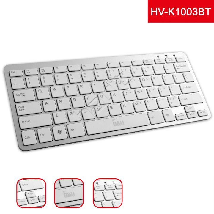 Latest High Quality Chocolate Bluetooth Wireless Keyboard From ...