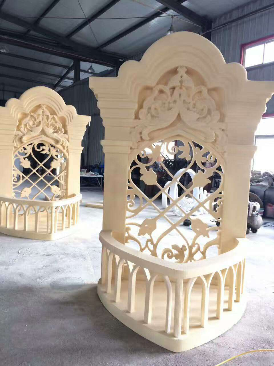 High Quality Decorative EPS Foam Wall Sculpture for exterior wall