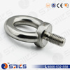 rigging hardware polished lifting m20 stainless steel eye bolt