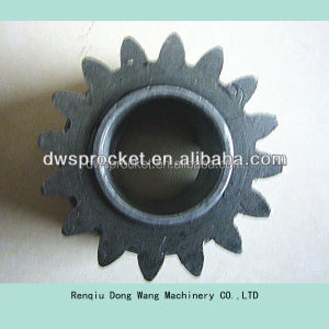 Helical pinion bevel gear