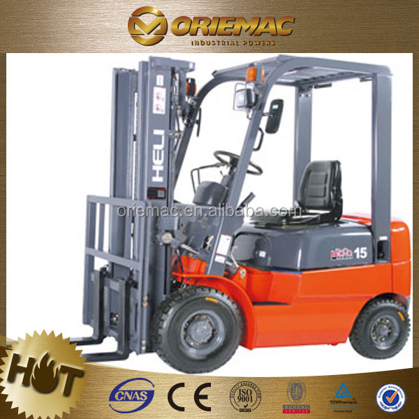 Anhui HELI 1800KG battery forklift with mast triplex CPD18