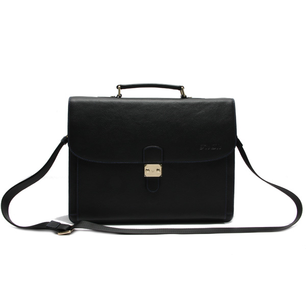 Leather Messenger Bag Trendy Office Men Bags Used Briefcases With ...