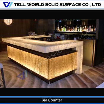 Design De Mesa De Bar Boate/fotos De Balcão De Bar/balcão De Bar