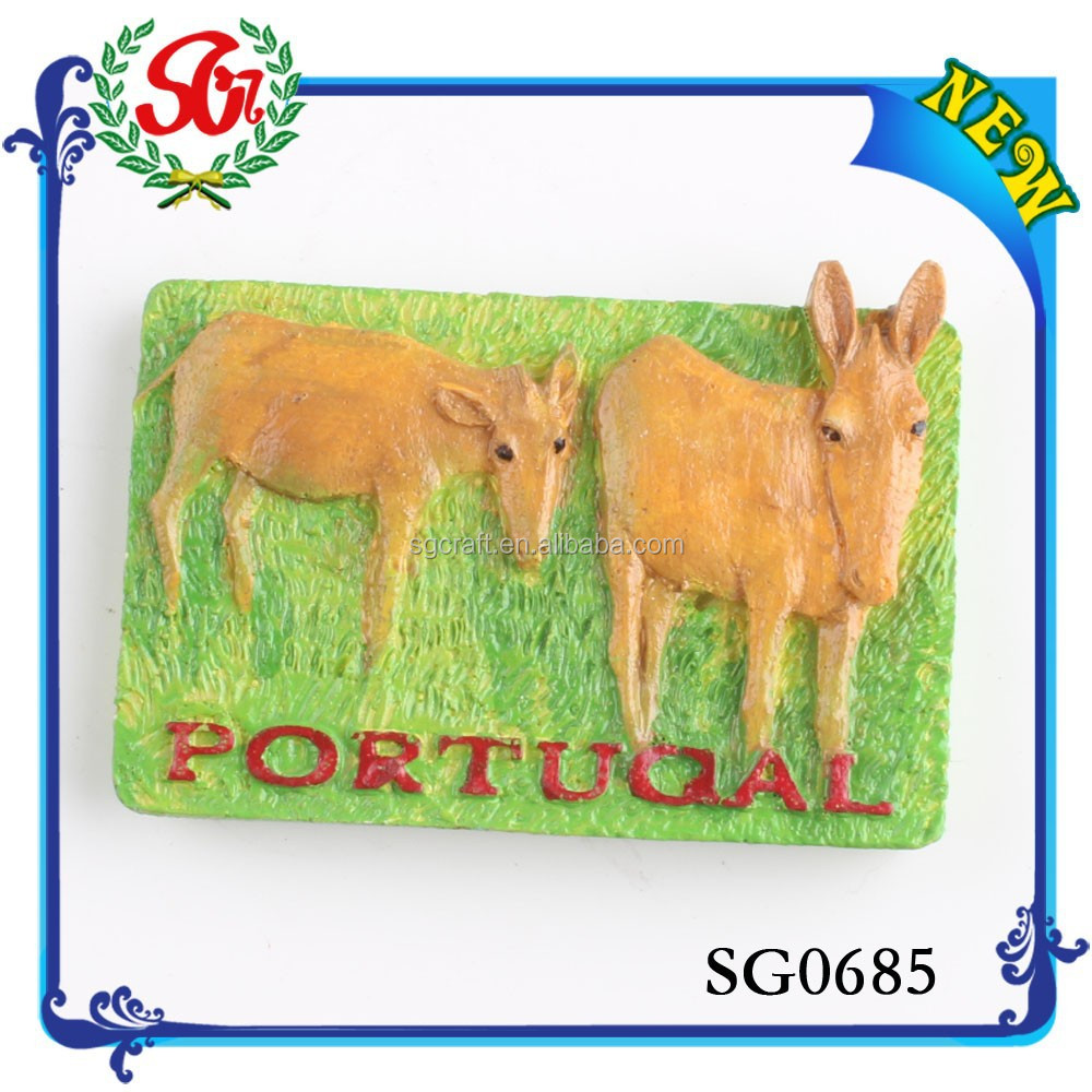 SG0685 Fashion Novelty Mini Arts Crafts Portugal Fridge Magnet, Tourist Souvenir Gift
