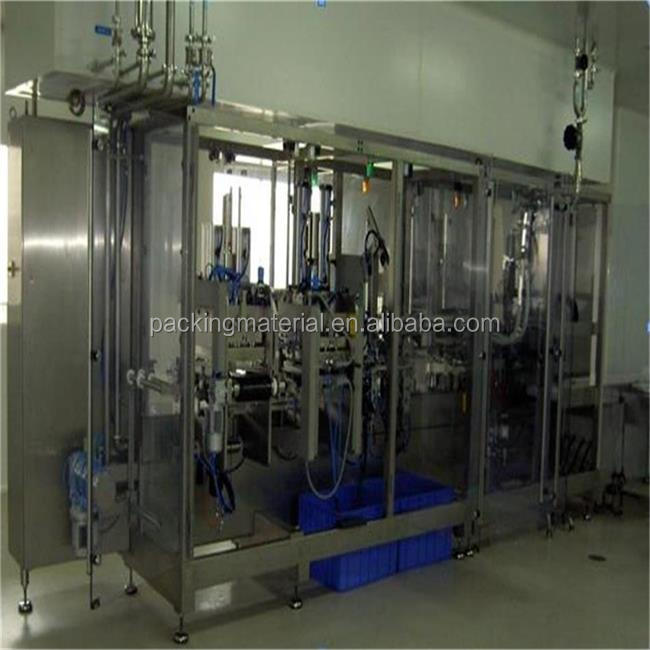 Normal saline plastic non-pvc bag solution making plant /i.v fluid production equipment