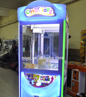 Malaysia coin operated crazy toy 2 story game toy crane claw machine supplier