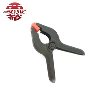 "2"" 3' 4"" 6"" 9"" double color plastic spring clamp"