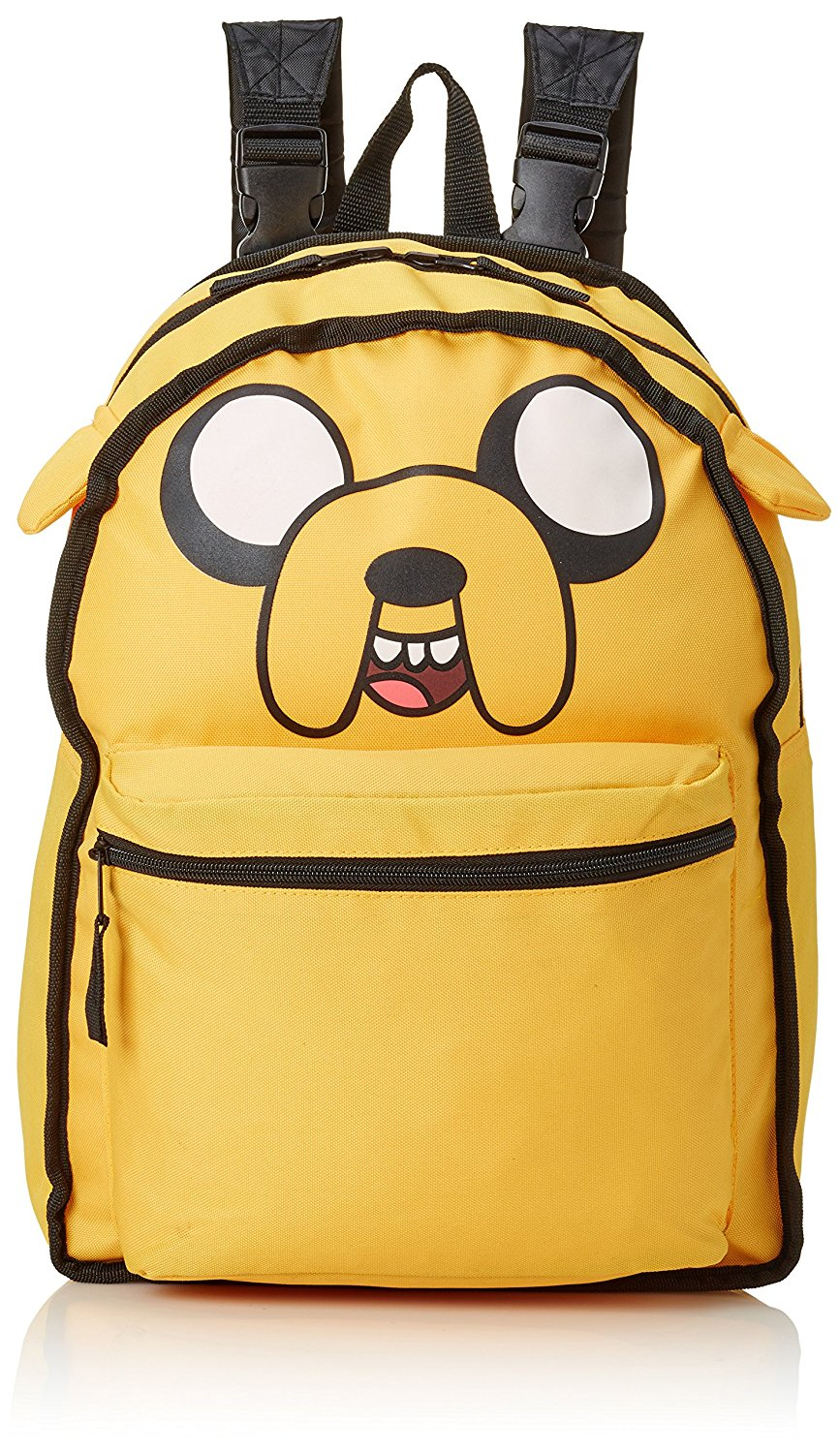 92be99c496 Get Quotations · Adventure Time Jake   Finn Reversible Backpack 90232ADV