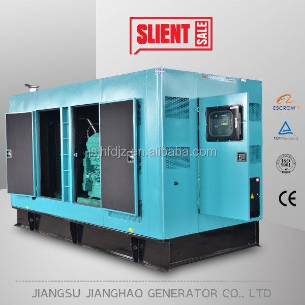 500kva generator set for sale powered by cumming KTA19 engine 400kw silent type