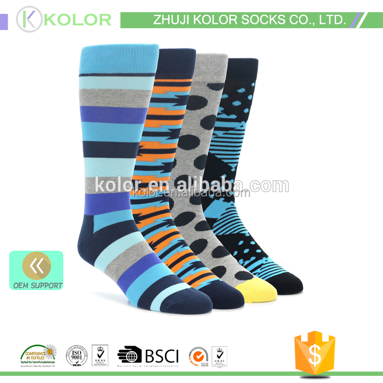 KOLOR-C-3173 custom socks no minimum order