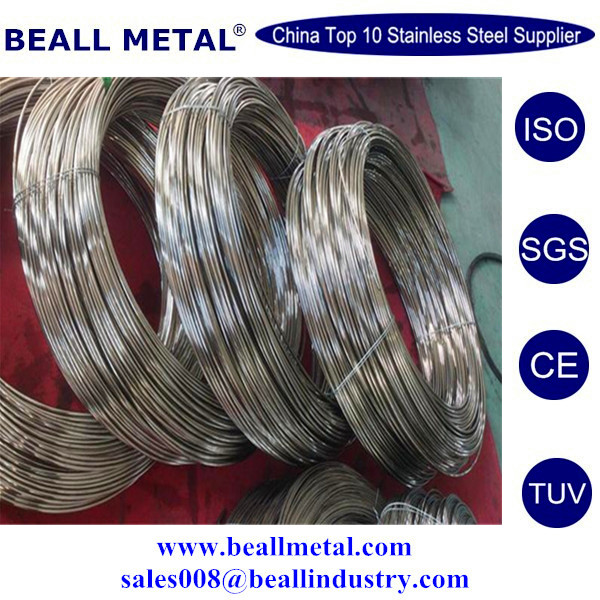 AISI 304L SS Shinning wire 4mm h9