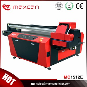 UV digital ID card / business card printing machine MC1512E for hot sale