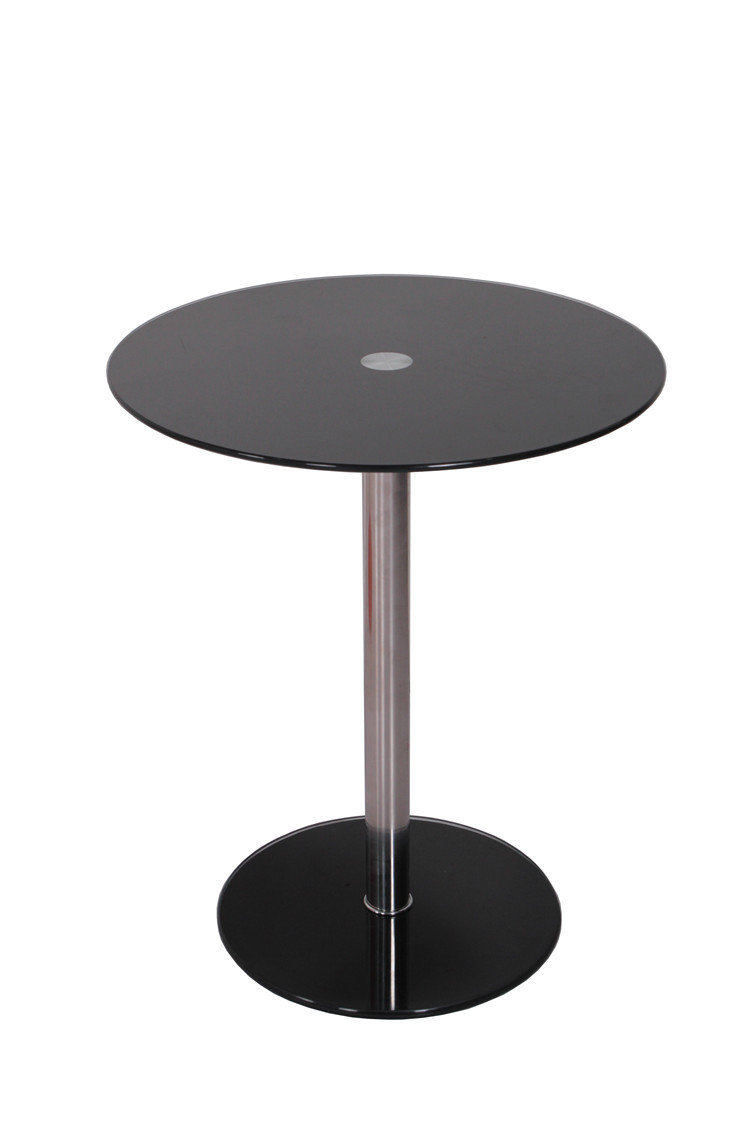 Made In China Small Round Glass Coffee Table Side Table