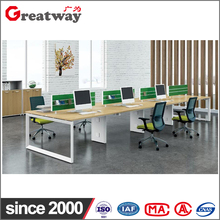 Hot sale cheap price 8 seat office computer desk wholesale office table