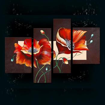 Usine Vend Nouvelle Conception Peinture Murale Moderne Fleur ...
