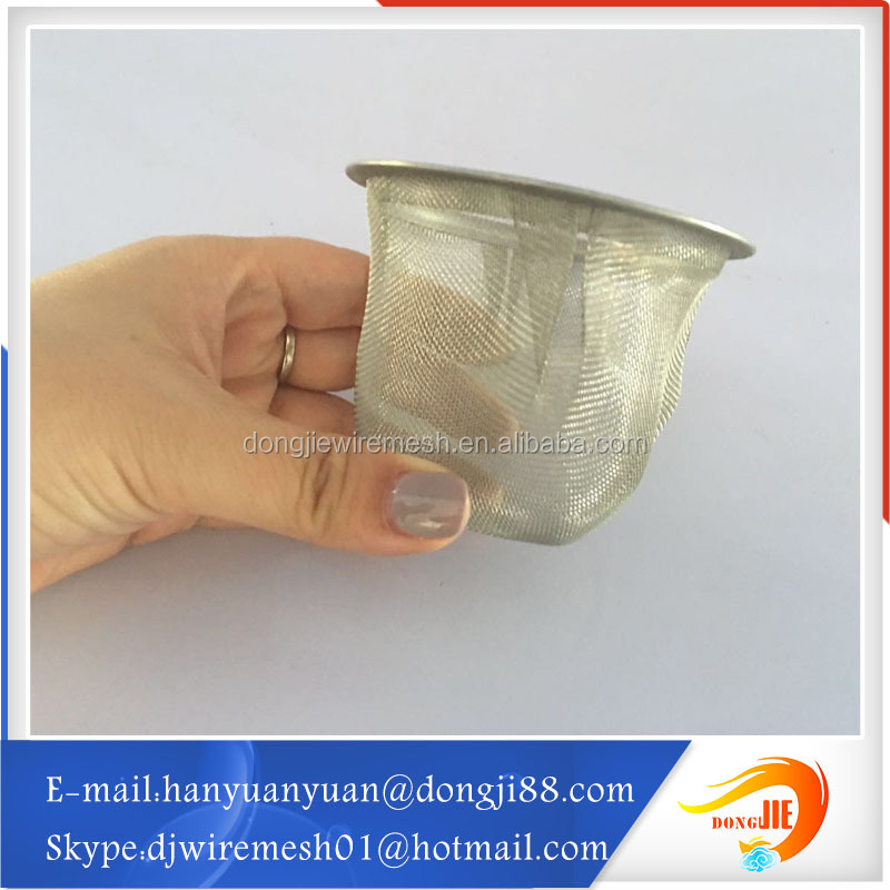 Metal material wire mesh screen filter 100 micron filter mesh