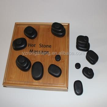 Bulk Wholesale Massage Tool Large Flat Polished Black