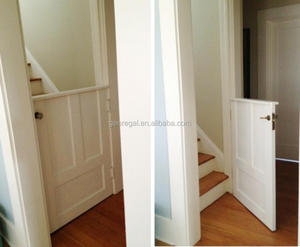 Solid wood interior half doors