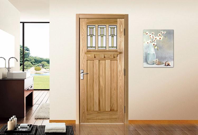 Unfinished Surface Finishing Flush Solid Wood Shaker Type Interior Position Doors Buy