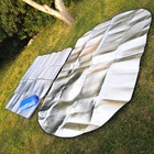 Waterproof Cheap 200*200CM Folding Aluminum Foil Picnic Mat
