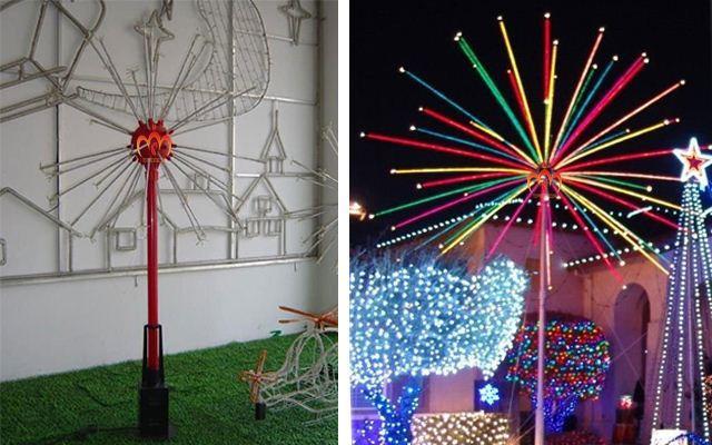 Manufacturer unique 48 tubes Wedding Decoration christmas fireworks lights