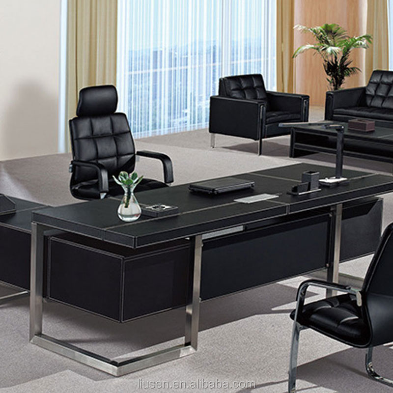 Excellent Quality High End Executive Desk Leather