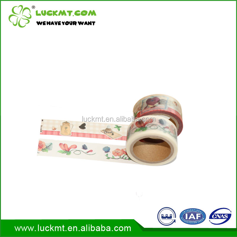 China Manufacturer Waterproof Custom Washi Paper Tape Craft Book