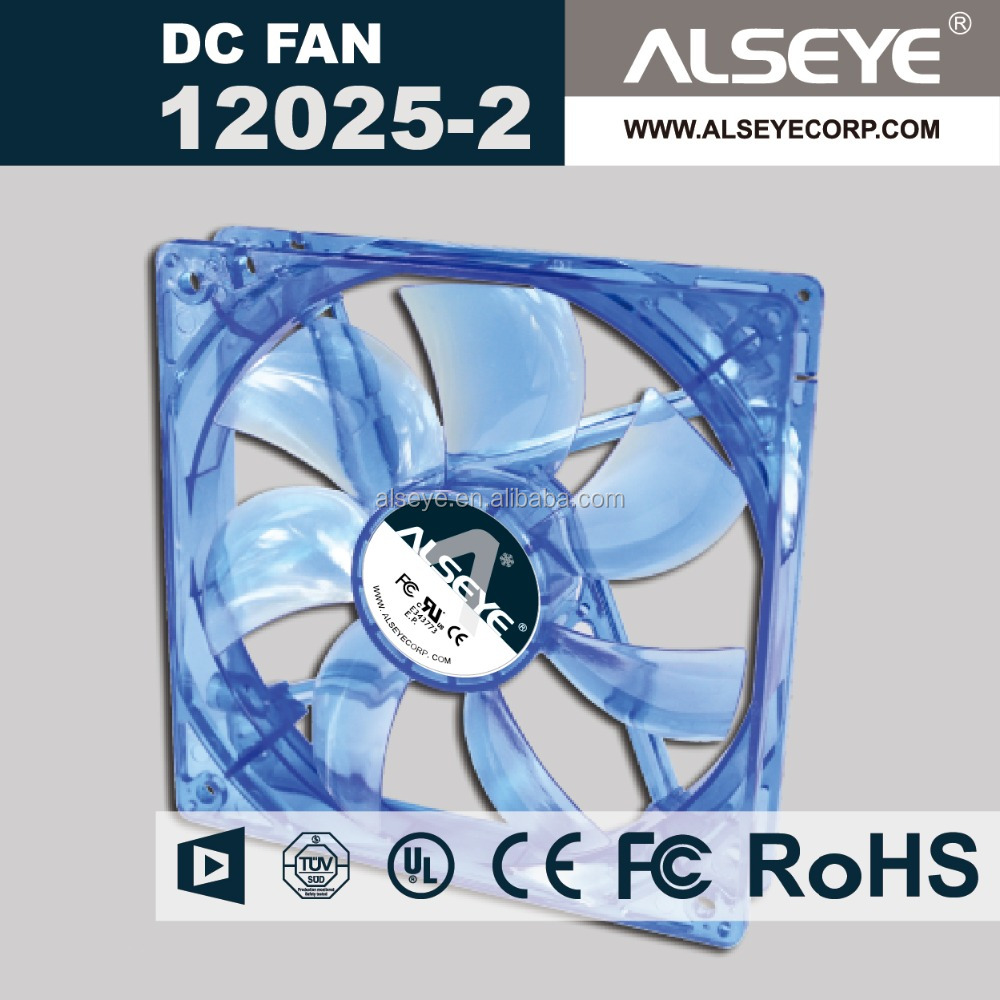 Alseye CB3313 manufacture UR,CE,ISO Certification fan air blower 120mm 5v 12v dc fan motor 12025 axial fan