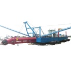 hot sell high efficiency river sand cutter suction dredger machine dredging vessel for sale