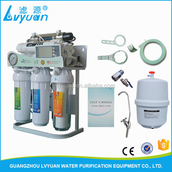 Wholesale 5 6 7 8 Stage Home Pure Water Filter / RO Drinking Water Purifier  Filter