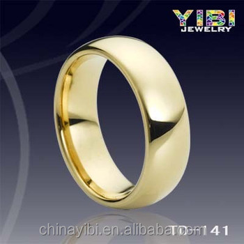 High Polish Gold Mini Gps Tracking Chip Tungsten Ring,Wholesale ...