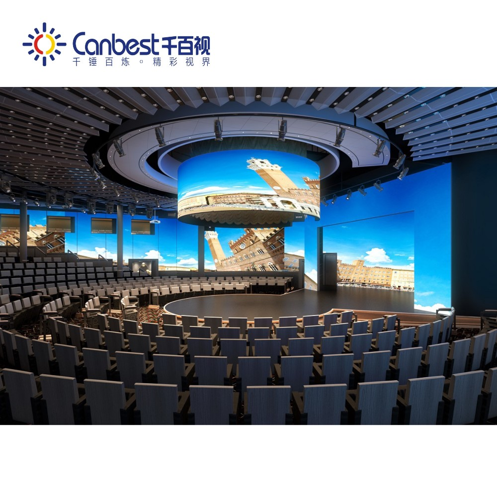 CANBEST high resolution die-casting aluminum full color indoor & rental P2 P3 P4 waterproof LED panel stage LED display