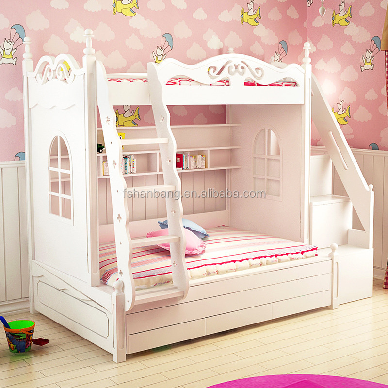 Furniture Near Here: 3 Tier Kids Bed Triple Bunk Bed Price