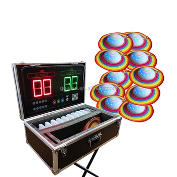 New inflatable challenging interactive games interactive play system sealed table for sale