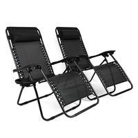 New Design high quality metal frame Reclining Folding Sofa Chair