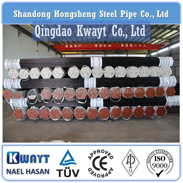 ASTM A179 / A213 / A519 Cold Drawn Carbon Steel Seamless Tube For Construction Galvanized