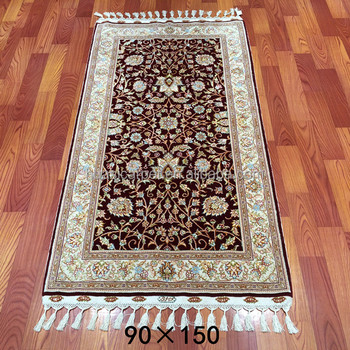 3x5ft Handmade Red Hand Tufted Persian Wool Rugs And Carpets India