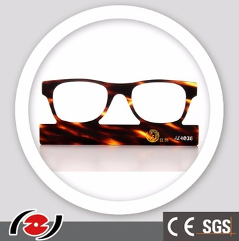 Jz4036 Antique Transparent Optical Glasses Frame Raw Material ...