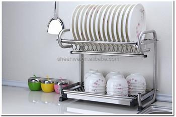 WDJ 440 Guangzhou Wall Mounted Stainless Steel Kitchen Dish Drying Rack