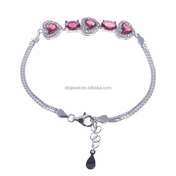 High Quality Wholesale 925 Silver CZ Bracelet Smart Bracelet Sterling Silver Jewelry DR032732B-6.3g
