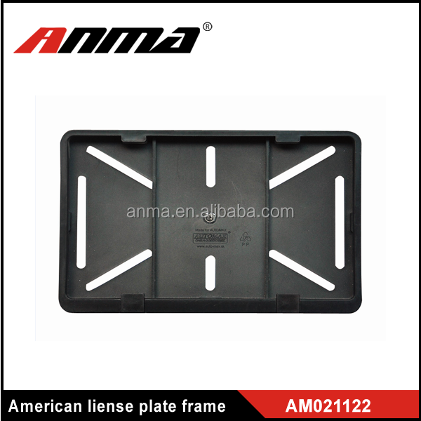 ABS durable plastic license plate holder