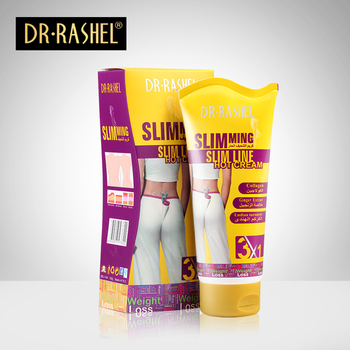 DR. RASHEL Indian Kurkuma Collageen Gember Extract Hot Body Afslanken Crème