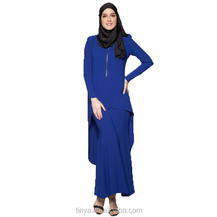 Latest Long Sleeves Design Fashion Baju Kurung Simple Muslim Dress Buy Muslim Dress Long Sleeve Muslim Maxi Dress Fashion Baju Arab Product On