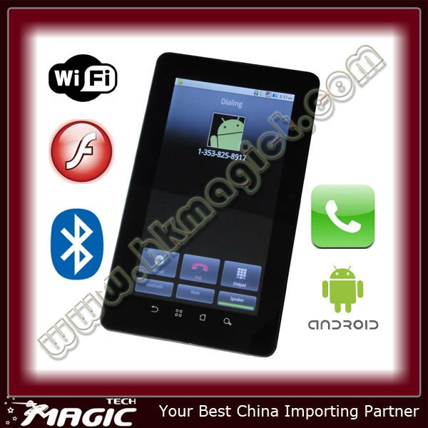 7 inch Android 4.0 OS Tablet PC 3G SIM Card Slot