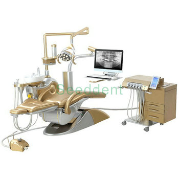 Best quality Luxury TUHAO KING Golden Implant Dental Unit / Foshan factory cheap price