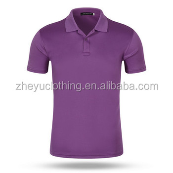 Anti shrink dry fit t-shirt polo men wholesale youth fashion styles